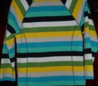 1) полосатая флиска,на 10-12 лет,OLD NAVY,цена-100гр. замеры:длина-53см.,д.рук-. Киев, Киевская область. фото 3