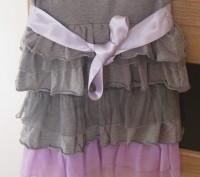 Нарядный качественный теплый сарафан для девочки 5-7 лет в идеальном состоянии . Житомир, Житомирская область. фото 4
