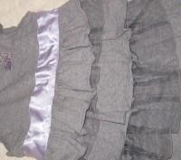 Нарядный качественный теплый сарафан для девочки 5-7 лет в идеальном состоянии . Житомир, Житомирская область. фото 6