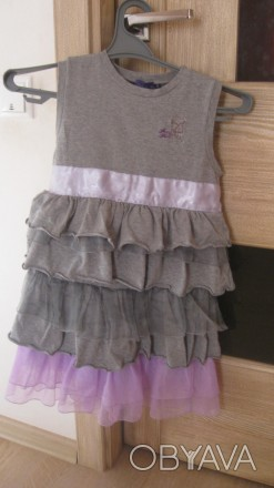 Нарядный качественный теплый сарафан для девочки 5-7 лет в идеальном состоянии . Житомир, Житомирская область. фото 1