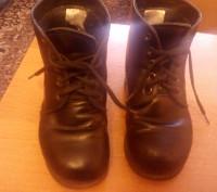 Продам ботинки ортопедические кожаные чёрного цвета утеплённые. Изготавливали на. Запорожье, Запорожская область. фото 3