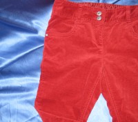 английские штаны (Next) для девочки  в идеальном состоянии. На поясе есть резинк. Житомир, Житомирская область. фото 4