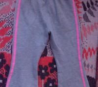 Продам мягкие спортивные штанишки для девочки серого цвета с вышивкой barbie. По. Запорожье, Запорожская область. фото 3