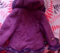 Дубленка для девочки примерно 2-3-4 лет лучше ориентироваться по замерам. Написа. Запорожье, Запорожская область. фото 4