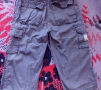 Продам брюки на удобной резинке для мальчика 2-3 года. Есть 5 карманов. Длина-54. Запорожье, Запорожская область. фото 3