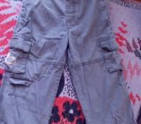 Продам брюки на удобной резинке для мальчика 2-3 года. Есть 5 карманов. Длина-54. Запорожье, Запорожская область. фото 2
