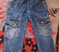 Продам джинсы детские Zhen rong на резинке. Длина-55см, Талия-44см, хорошо тянет. Запоріжжя, Запорізька область. фото 2