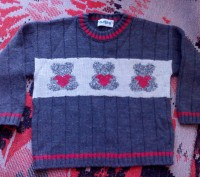 Продам теплый свитерок для мальчика 3-4 лет. Очень мягкий, не колючий, можно под. Запорожье, Запорожская область. фото 2