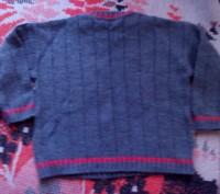 Продам теплый свитерок для мальчика 3-4 лет. Очень мягкий, не колючий, можно под. Запорожье, Запорожская область. фото 3