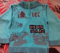 Продам теплый свитер для мальчика 3-5 лет. Очень красивый, мягенький с воротнико. Запоріжжя, Запорізька область. фото 2