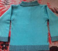 Продам теплый свитер для мальчика 3-5 лет. Очень красивый, мягенький с воротнико. Запоріжжя, Запорізька область. фото 3