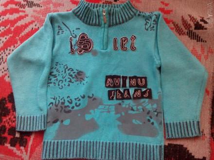 Продам теплый свитер для мальчика 3-5 лет. Очень красивый, мягенький с воротнико. Запоріжжя, Запорізька область. фото 1