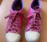 Продам красивые розовые кеды для девочки (для 4-5 класса в школу на физкультуру). Запоріжжя, Запорізька область. фото 3