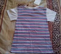 Продам новую футболку для мальчика 4-5 лет. Застёгивается на плече, спереди бела. Запорожье, Запорожская область. фото 3