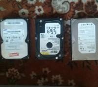 Жесткие диски 40/80/160/250 500 gb для пк. Чернигов. фото 1