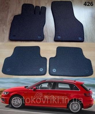 Автомобильные коврики EVA для AUDI A3 Sportback-.. e-tron Коврики на Audi A3 Spo. Киев, Киевская область. фото 2