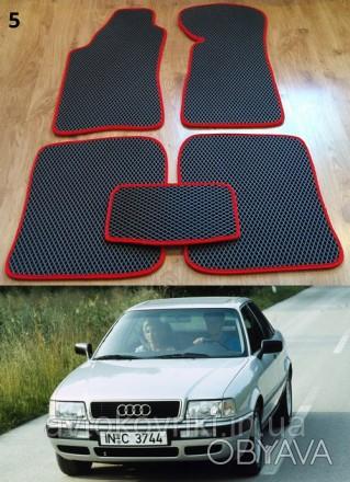 Автомобильные коврики EVA для audi 80 (B3, B4) '86-96 Коврики на Audi 80 &#3. Киев, Киевская область. фото 1