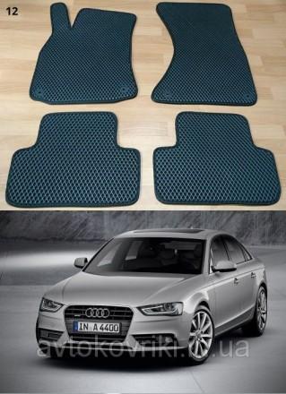 Автомобильные коврики EVA для Audi A4 (B8) '08-15.  Коврики на Audi A4 '. Киев, Киевская область. фото 2