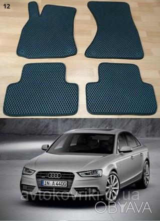 Автомобильные коврики EVA для Audi A4 (B8) '08-15.  Коврики на Audi A4 '. Киев, Киевская область. фото 1