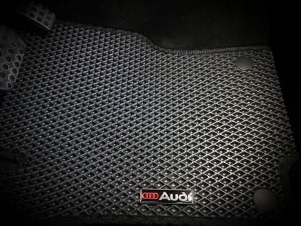 Автомобильные коврики EVA для Audi A6 (C6) '05-10. Коврики на Audi A6 (C6) &. Киев, Киевская область. фото 3