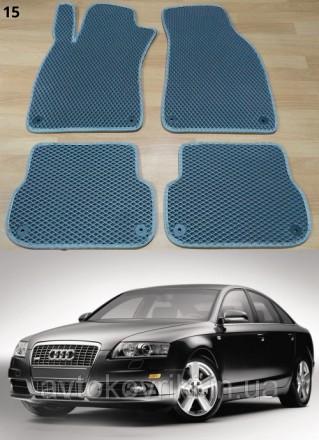Автомобильные коврики EVA для Audi A6 (C6) '05-10. Коврики на Audi A6 (C6) &. Киев, Киевская область. фото 2