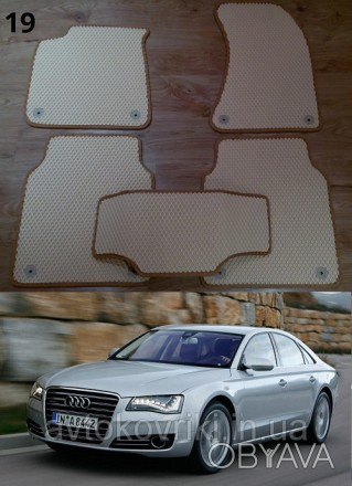 Автомобильные коврики EVA для Audi A8 LONG '10-17. Коврики на Audi A8 Long &. Киев, Киевская область. фото 1