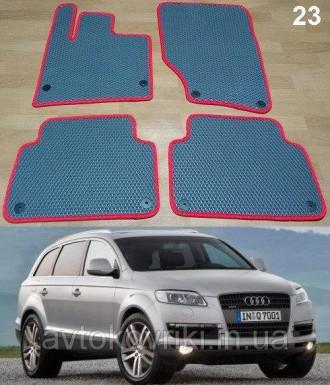 Автомобильные коврики EVA для AUDI Q7 '05-14.  Коврики на Audi Q7 '05-14. Киев, Киевская область. фото 2
