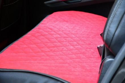 Чехлы на сиденья автомобилей задний комплект  Материал - тканевые Комплект - 3 ш. Киев, Киевская область. фото 5
