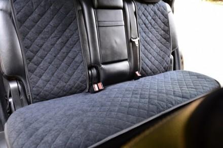 Чехлы на сиденья автомобилей задний комплект  Материал - тканевые Комплект - 3 ш. Киев, Киевская область. фото 2