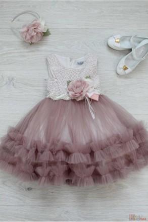 Платье нарядное с жемчужинами.. Белая Церковь. фото 1