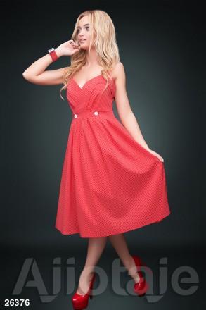 Элегантное модное женское платье  с запахом 26375 цвета. Киев. фото 1