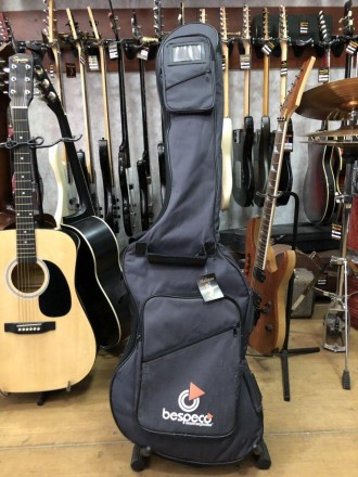 · Длина: 125см · Ширина: 37см Супер практичный утепленный чехол для бас гитары п. Чернигов, Черниговская область. фото 2