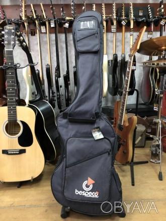 · Длина: 125см · Ширина: 37см Супер практичный утепленный чехол для бас гитары п. Чернигов, Черниговская область. фото 1