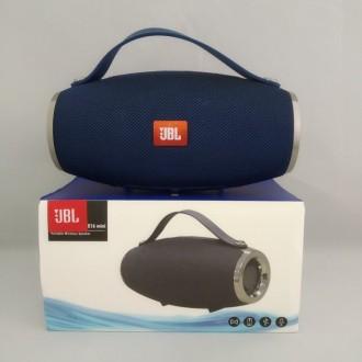 Портативная bluetooth колонка спикер JBL E16 mini FM, MP3, радио Синий. Измаил. фото 1