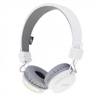 Беспроводные Bluetooth Наушники с MP3 плеером NIA-X2 Радио блютуз Белые. Измаил. фото 1