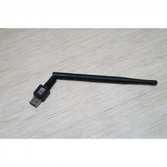 USB Wi-Fi сетевой адаптер Wi Fi 802.11n + Антенна. Одесса. фото 1