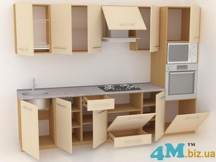 Кухня, мебель от производителя на заказ - дизайн, доставка, установка. Киев. фото 1