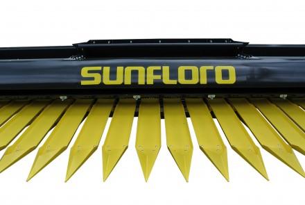 Жатка для уборки подсолнечника «SunFloro» - это новое поколение уборочной техник. Запорожье, Запорожская область. фото 3