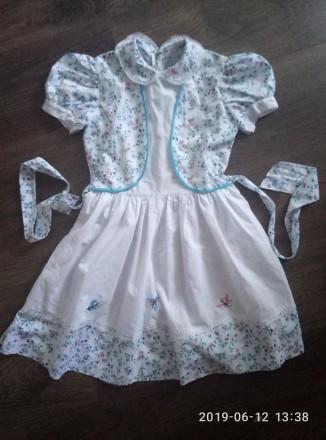 Платье 5-7 лет. Херсон. фото 1