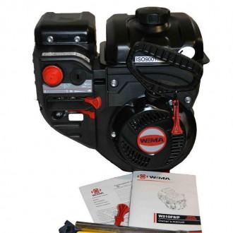 Двигатель бензиновый WEIMA W210FS Q3 для снегоуборщиков (вал 19 мм, шпонка) WEIM. Киев, Киевская область. фото 3