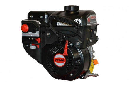 Двигатель бензиновый WEIMA W210FS Q3 для снегоуборщиков (вал 19 мм, шпонка) WEIM. Киев, Киевская область. фото 2
