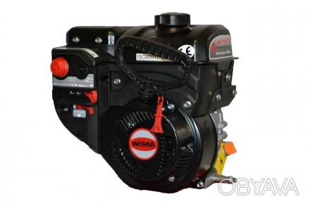 Двигатель бензиновый WEIMA W210FS Q3 для снегоуборщиков (вал 19 мм, шпонка) WEIM. Киев, Киевская область. фото 1