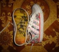 Кроссовки Adidas, кожа+текстиль, длина стельки - 18,5 см. Запорожье, Запорожская область. фото 3