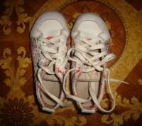 Кроссовки Adidas, кожа+текстиль, длина стельки - 18,5 см. Запорожье, Запорожская область. фото 2