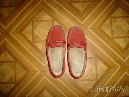 Обувь для девочки из натуральной замши. Легкие, прочные и удобные.. Запорожье, Запорожская область. фото 1