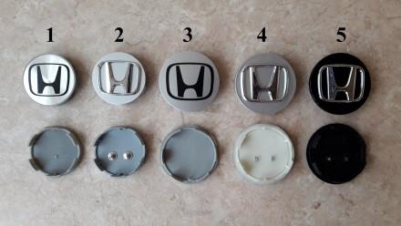 Колпачки на диски (заглушки в диски) ступичные колпачки Honda (Хонда). Киев. фото 1