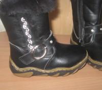 Кожаные зимние сапоги, производитель Украина, почти новые, носились мало, носки . Киев, Киевская область. фото 4