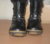 Кожаные зимние сапоги, производитель Украина, почти новые, носились мало, носки . Киев, Киевская область. фото 3