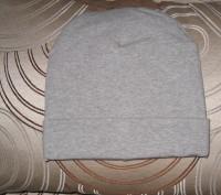 шапка теплая двойная . Цвет -серый. Ткань -итальянский плотный трикотаж.  Диамет. Житомир, Житомирская область. фото 2