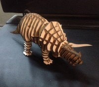 Продам 3D пазл ,42 см длина ,материал фанера штучная работа единственный в своём. Київ, Київська область. фото 3